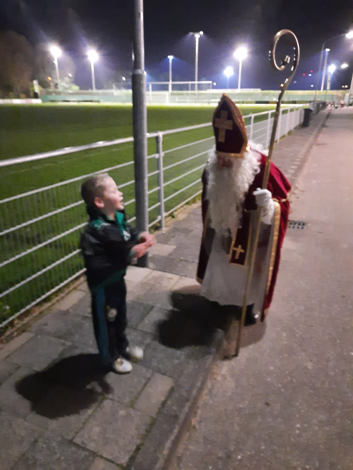 Bezoek van de Sint bij RCD 9