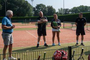 Geslaagde open dag RCD Tennis