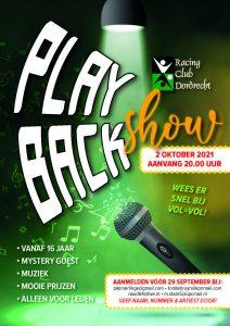Playbackshow 2 oktober 2021