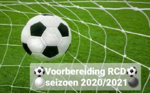 Toernooien en oefenwedstrijden RCD1 EN RCD2